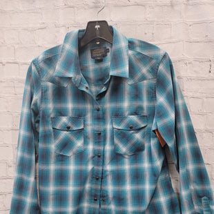 Primary Photo - BRAND: PENDLETON STYLE: TOP LONG SLEEVE COLOR: BLUE PLAID SIZE: M SKU: 115-115309-21020