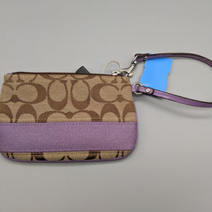 Primary Photo - BRAND: COACH O STYLE: WRISTLET COLOR: LAVENDER SKU: 115-115347-2398