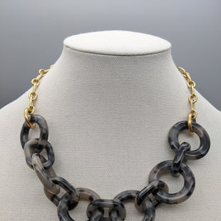 Primary Photo - BRAND: J CREW STYLE: NECKLACE COLOR: GOLD OTHER INFO: BLACK SKU: 115-115336-1202
