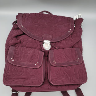 Primary Photo - BRAND: VERA BRADLEY STYLE: BACKPACK COLOR: PLUM SIZE: MEDIUM OTHER INFO: ** SKU: 115-115314-11691