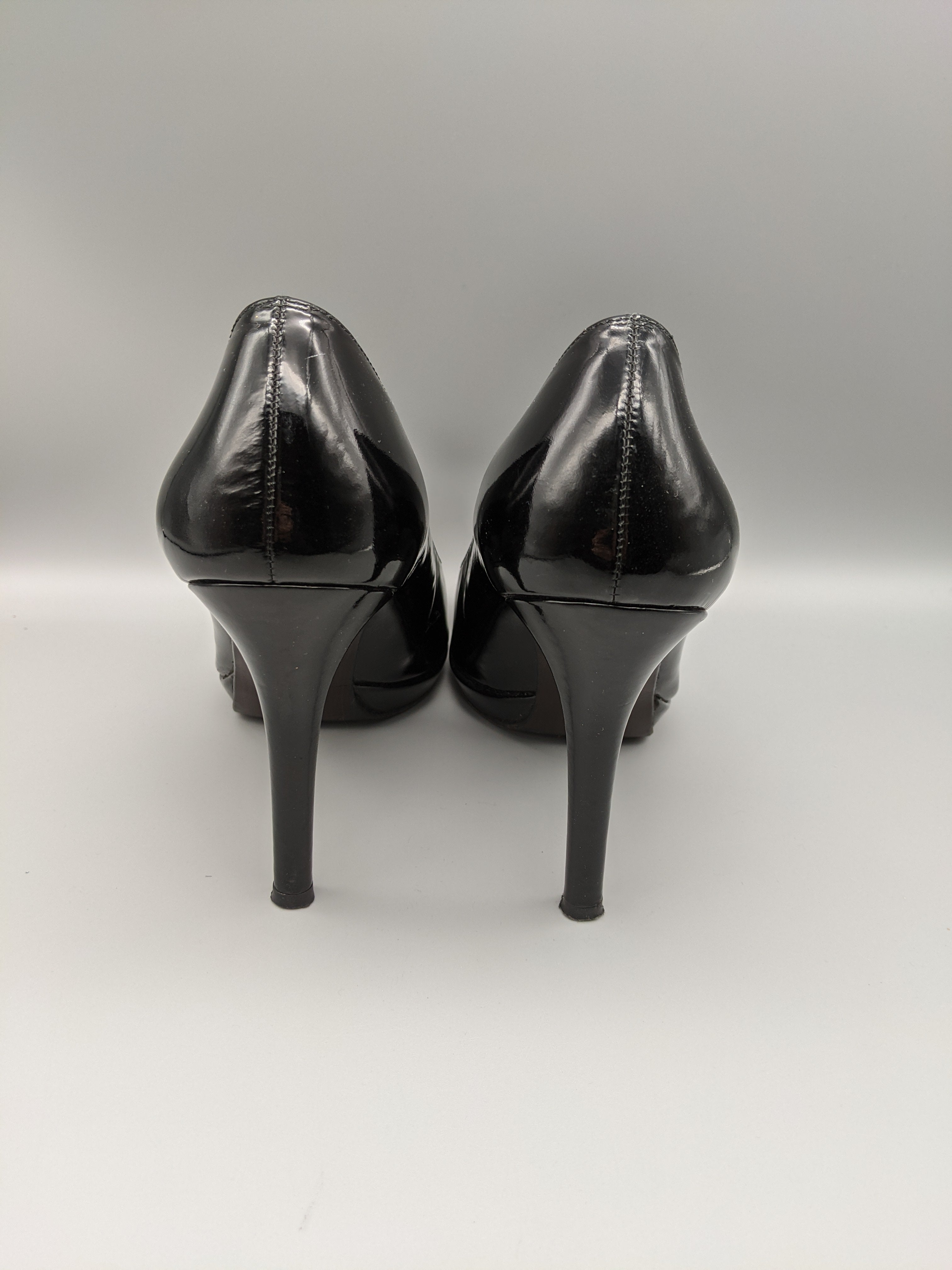 Photo #2 - BRAND: STUART WEITZMAN <BR>STYLE: SHOES HIGH HEEL <BR>COLOR: BLACK <BR>SIZE: 7.5 <BR>OTHER INFO: RUSSEL AND BROMLEY ** <BR>SKU: 115-115314-9670