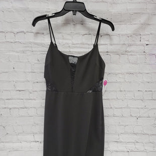 Primary Photo - BRAND:    CLOTHES MENTOR STYLE: DRESS SHORT SLEEVELESS COLOR: BLACK SIZE: 8 OTHER INFO: PREMIER AOUR - NWT SKU: 115-115302-16374
