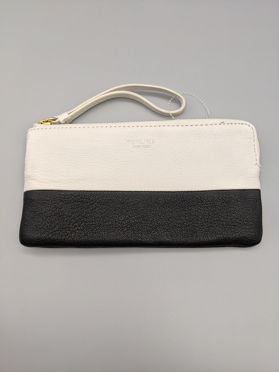 Primary Photo - BRAND: PERLINA <BR>STYLE: WRISTLET <BR>COLOR: BLACK WHITE <BR>OTHER INFO: NEW! <BR>SKU: 115-115347-1066