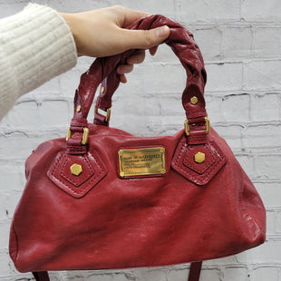 Primary Photo - BRAND: MARC BY MARC JACOBS STYLE: HANDBAG DESIGNER COLOR: RED SIZE: MEDIUM SKU: 115-115340-4802