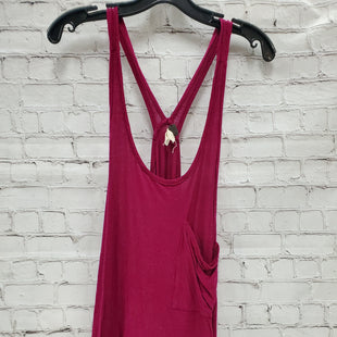Primary Photo - BRAND: FREE PEOPLE STYLE: TOP SLEEVELESS COLOR: FUSCHIA SIZE: L SKU: 115-115309-14886SLOUCHY TANK