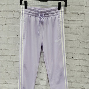 Primary Photo - BRAND: ADIDAS STYLE: ATHLETIC PANTS COLOR: LAVENDER SIZE: XS SKU: 115-115309-21502