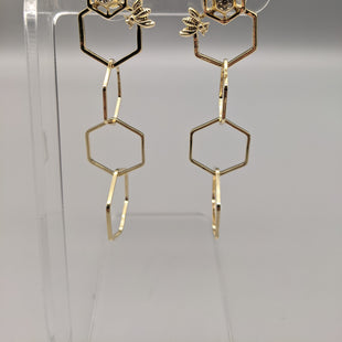 Primary Photo - BRAND:  RJ GRAZIANOSTYLE: EARRINGS COLOR: GOLD OTHER INFO: 4 HEXAGONS SKU: 115-115314-7953