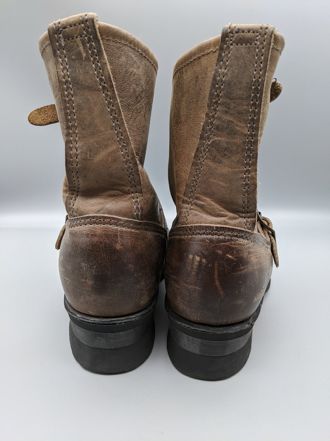 Photo #2 - BRAND: FRYE <BR>STYLE: BOOTS ANKLE <BR>COLOR: BROWN <BR>SIZE: 5.5<BR>OTHER INFO: ** <BR>SKU: 115-115314-7183