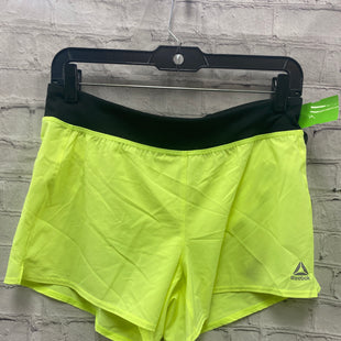 Primary Photo - BRAND: REEBOK STYLE: ATHLETIC SHORTS COLOR: NEON SIZE: S OTHER INFO: LIME GREEN SKU: 115-115257-30471