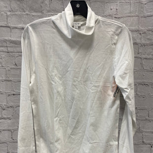 Primary Photo - BRAND: J CREW STYLE: TOP LONG SLEEVE COLOR: WHITE SIZE: S SKU: 115-115338-4113