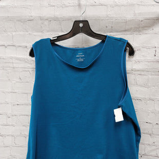 Primary Photo - BRAND: CJ BANKS STYLE: TOP SLEEVELESS COLOR: BLUE SIZE: 2X SKU: 115-115309-15391