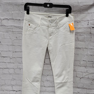 Primary Photo - BRAND: HUDSON STYLE: PANTS COLOR: WHITE SIZE: 2 OTHER INFO: NEW! SKU: 115-115314-9419SMALL STAIN ON BACK