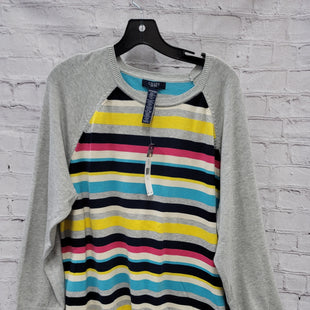 Primary Photo - BRAND: CHAPS STYLE: SWEATER LIGHTWEIGHT COLOR: GREY SIZE: 3X OTHER INFO: PINK,BLUE, YELLOW SKU: 115-115336-4652