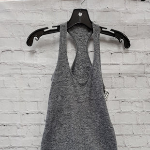 Primary Photo - BRAND: LULULEMON STYLE: ATHLETIC TANK TOP COLOR: GREY SIZE: S SKU: 115-115309-19880