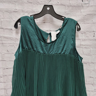 Primary Photo - BRAND: NEW YORK AND CO STYLE: TOP SLEEVELESS COLOR: EMERALD SIZE: XL SKU: 115-115309-16013
