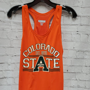 Primary Photo - BRAND:    CLOTHES MENTOR STYLE: ATHLETIC TANK TOP COLOR: ORANGE SIZE: M OTHER INFO: AUGUSTA SPORTSWEAR - AGGIES CSU SKU: 115-115340-1383