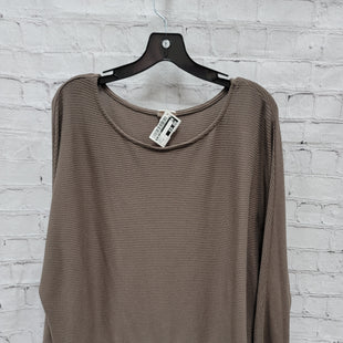 Primary Photo - BRAND: A NEW DAY STYLE: TOP LONG SLEEVE COLOR: BROWN SIZE: 2X SKU: 115-115340-4525