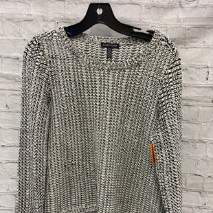 Primary Photo - BRAND: EILEEN FISHER STYLE: SWEATER LIGHTWEIGHT COLOR: WHITE BLACK SIZE: S SKU: 115-115347-2829