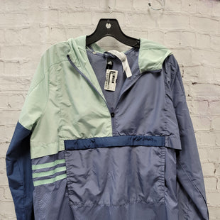 Primary Photo - BRAND: ADIDAS STYLE: ATHLETIC JACKET COLOR: PERIWINKLE SIZE: L SKU: 115-115360-687