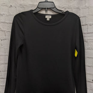 Primary Photo - BRAND: J CREW STYLE: TOP LONG SLEEVE COLOR: BLACK SIZE: XS OTHER INFO: HOUNDSTOOTH TRIM SKU: 115-115347-1287