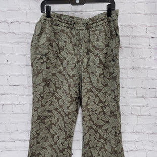 Primary Photo - BRAND: CASLON STYLE: PANTS COLOR: OLIVE SIZE: M OTHER INFO: FLORAL SKU: 115-115340-736