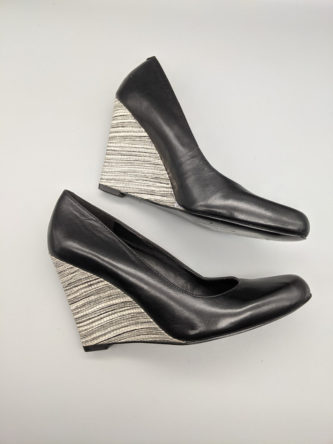 Photo #4 - BRAND: NINE WEST <BR>STYLE: SHOES HIGH HEEL <BR>COLOR: BLACK <BR>SIZE: 7 <BR>OTHER INFO: ** <BR>SKU: 115-115260-91774