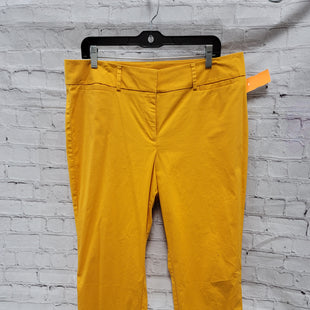 Primary Photo - BRAND: ANN TAYLOR O STYLE: PANTS COLOR: SUN SIZE: 12 SKU: 115-115309-19516