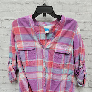 Primary Photo - BRAND: COLUMBIA STYLE: TOP LONG SLEEVE COLOR: PURPLE SIZE: XL OTHER INFO: PINK/BLUE SKU: 115-115309-19521