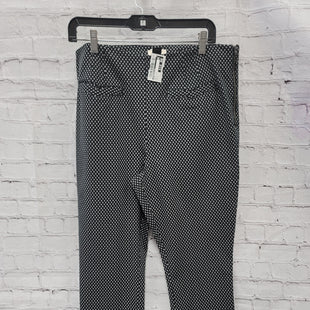 Primary Photo - BRAND: ANTHROPOLOGIE STYLE: PANTS COLOR: BLACK WHITE SIZE: 12 SKU: 115-115314-9633