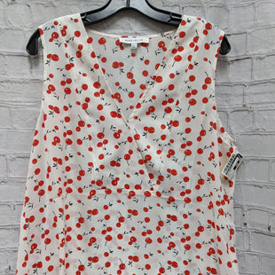 Primary Photo - BRAND: ROSE AND OLIVE STYLE: TOP SLEEVELESS COLOR: WHITE RED SIZE: L SKU: 115-115336-2719