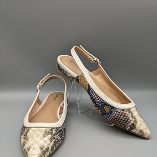 Primary Photo - BRAND: EXPRESS STYLE: SANDALS FLAT COLOR: SNAKESKIN PRINT SIZE: 6 SKU: 115-115336-540