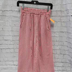 Primary Photo - BRAND: CATHERINE MALANDRINO STYLE: PANTS COLOR: PINK SIZE: XS OTHER INFO: BLACK SPOTS SKU: 115-115360-182