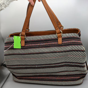 Primary Photo - BRAND: SOLE SOCIETY STYLE: HANDBAG COLOR: STRIPED SIZE: LARGE SKU: 115-115338-4557
