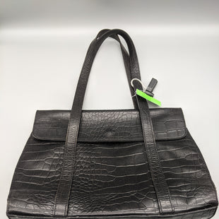 Primary Photo - BRAND:    CLOTHES MENTOR STYLE: HANDBAG LEATHER COLOR: BLACK SIZE: MEDIUM OTHER INFO: CLAUDIA - SOME WEARSKU: 115-115360-1752