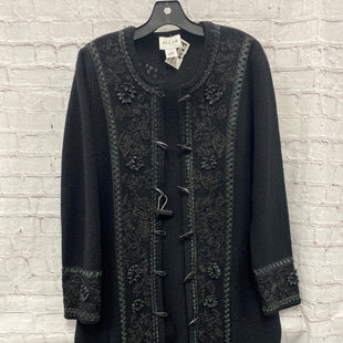 Primary Photo - BRAND: OSCAR DE LA RENTA STYLE: COAT LONG COLOR: BLACK SIZE: L OTHER INFO: 100% WOOL ** SKU: 115-115314-11480