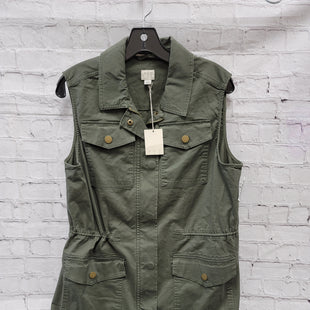 Primary Photo - BRAND: A NEW DAY STYLE: VEST COLOR: GREEN SIZE: L SKU: 115-115309-18775