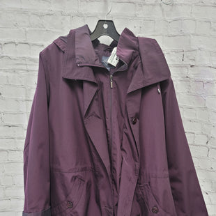 Primary Photo - BRAND: ST JOHNS BAY STYLE: COAT LONG COLOR: PURPLE SIZE: 3X SKU: 115-115340-5106