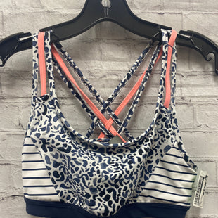 Primary Photo - BRAND: ATHLETA STYLE: BRA COLOR: NAVY SIZE: S OTHER INFO: PINK STRAPS SKU: 115-115314-11527