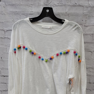 Primary Photo - BRAND: LUSH STYLE: TOP LONG SLEEVE COLOR: WHITE SIZE: M SKU: 115-115338-3635