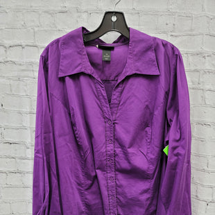 Primary Photo - BRAND: LANE BRYANT STYLE: TOP LONG SLEEVE COLOR: PURPLE SIZE: 4X SKU: 115-115347-3638
