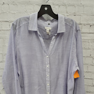 Primary Photo - BRAND: CHICOS STYLE: TOP LONG SLEEVE COLOR: LILAC SIZE: XL SKU: 115-115309-20899