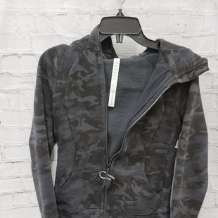 Primary Photo - BRAND: LULULEMON STYLE: ATHLETIC JACKET COLOR: BLACK SIZE: 6 OTHER INFO: CAMO SKU: 115-11545-100012