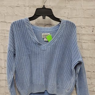 Primary Photo - BRAND: FORENZIA STYLE: SWEATER LIGHTWEIGHT COLOR: BLUE SIZE: XS SKU: 115-115309-21272