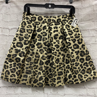 Primary Photo - BRAND: BOSTON PROPER STYLE: SKIRT COLOR: ANIMAL PRINT SIZE: 8 SKU: 115-115314-7740