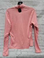 Photo #1 - BRAND: NIKE <BR>STYLE: ATHLETIC TOP <BR>COLOR: PINK <BR>SIZE: M <BR>SKU: 115-115309-20098