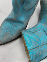 Photo #2 - BRAND:  CMB <BR>STYLE: BOOTS ANKLE <BR>COLOR: TEAL <BR>SIZE: 7 <BR>OTHER INFO: MR WOLF - <BR>SKU: 115-115340-4752