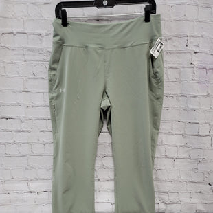 Primary Photo - BRAND: UNDER ARMOUR STYLE: ATHLETIC PANTS COLOR: SAGE SIZE: M SKU: 115-115302-18777