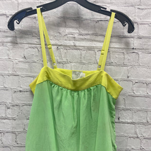 Primary Photo - BRAND: ANTHROPOLOGIE STYLE: TOP SLEEVELESS COLOR: GREEN SIZE: 2 SKU: 115-115340-4535
