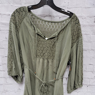 Primary Photo - BRAND: MOTHERHOOD STYLE: MATERNITY TOP LONG SLEEVE COLOR: GREEN SIZE: M SKU: 115-115314-9727