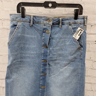 Primary Photo - BRAND: ANTHROPOLOGIE STYLE: SKIRT COLOR: DENIM SIZE: 12 SKU: 115-115360-2387